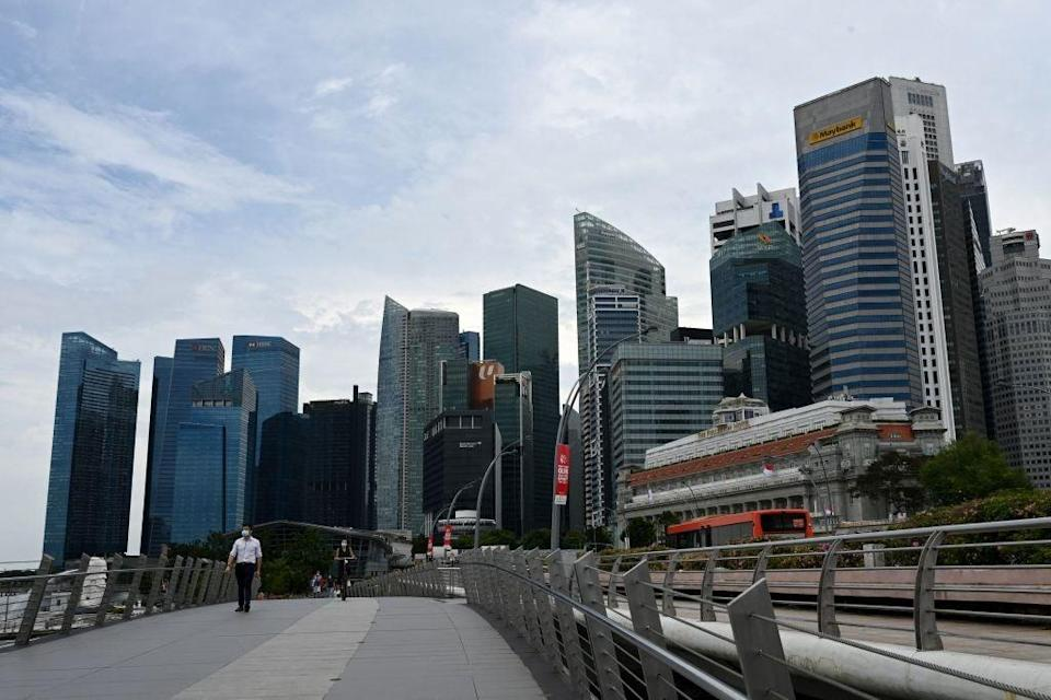 Singapore is enforcing strict pandemic restrictions   (AFP via Getty Images)
