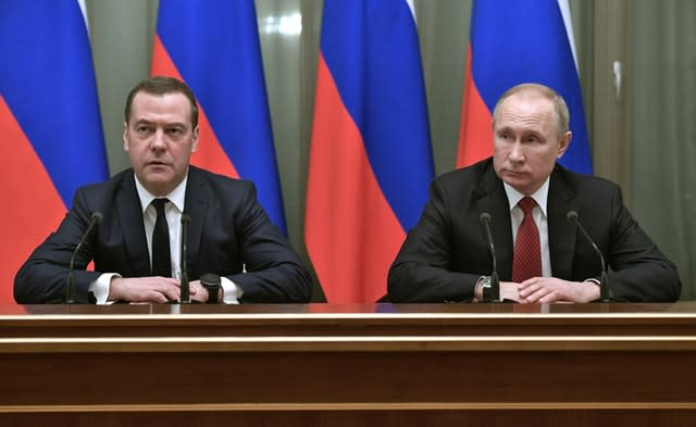 Russia Prime Minister Resigns