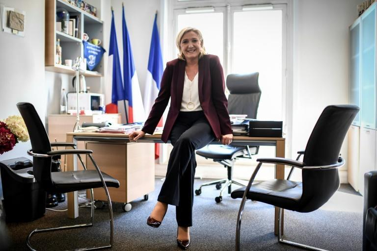 """Marine Le Pen, head of the French far-right National Rally (RN) party, told AFP """"everything has changed"""" since she won a seat in the French parliament"""