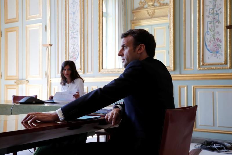 France's Macron says he and Trump preparing an initiative on coronavirus crisis - Twitter