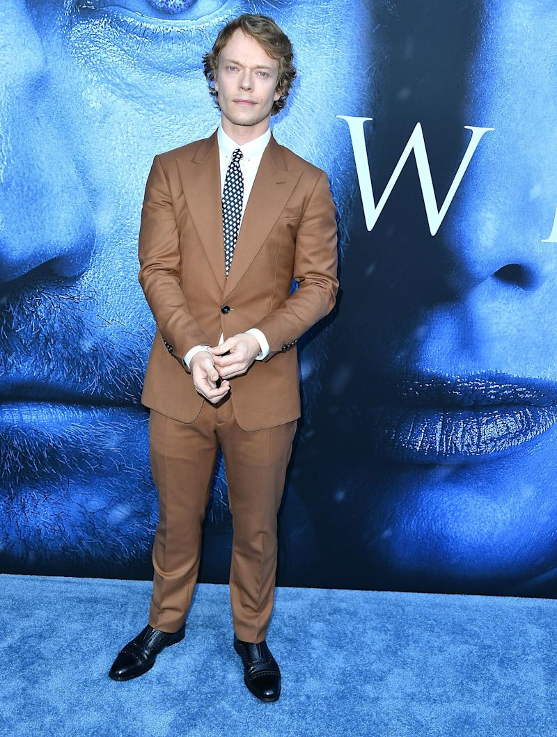 Alfie Allen at the premiere of Game of Thrones season seven in Los Angeles, California, July 2017.