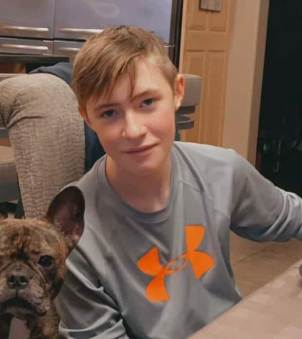 Jaxon MacDonald was last seen leaving a home in Jubilee subdivision of Duck Mountain Provincial Park on foot at about 12:30 a.m. on Sunday.  (Kamsack RCMP - image credit)