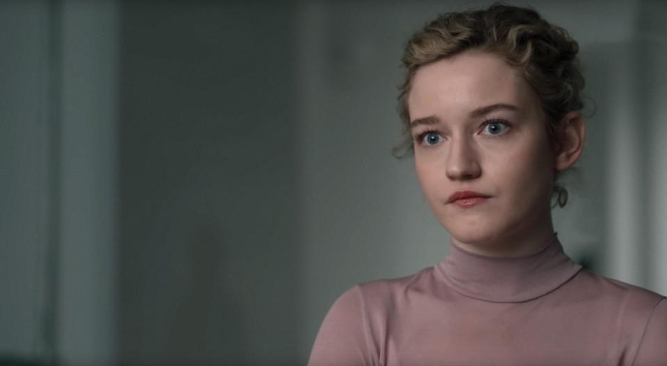 Julia Garner stars in <em>The Assistant</em>. (Photo: Bleecker Street Media / courtesy Everett Collection)