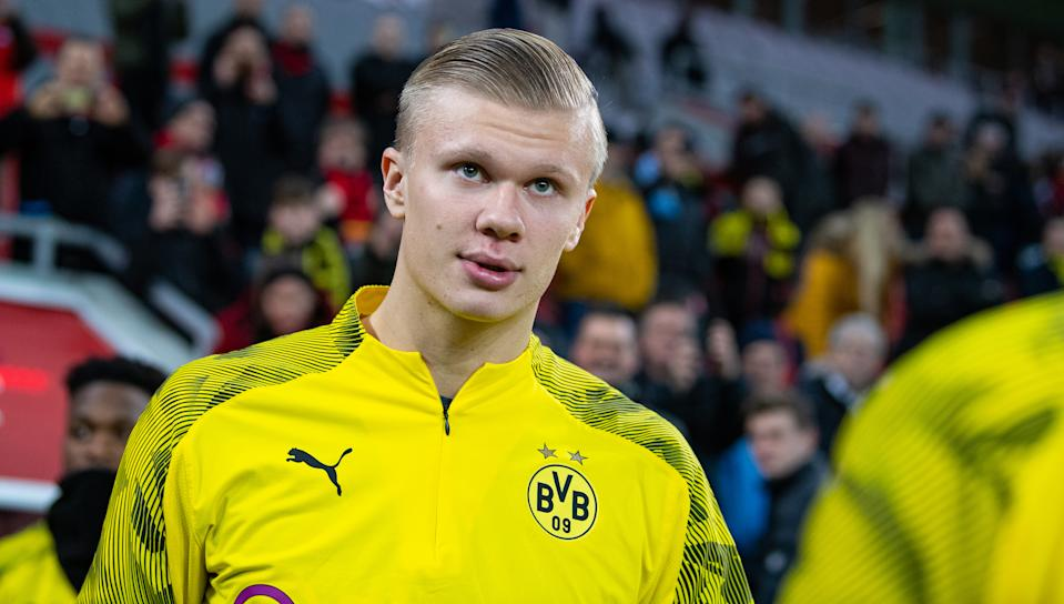 Erling Haaland and Borussia Dortmund look much more threatening in the Champions League than they did when the group stage ended. (Photo by Guido Kirchner/picture alliance via Getty Images)