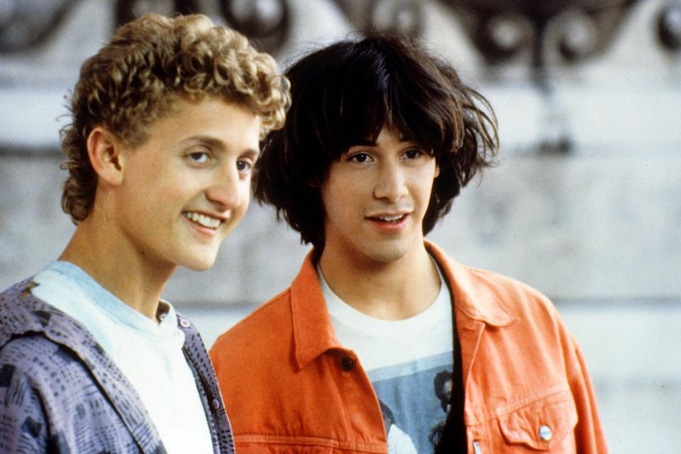 Bill & Ted's Excellent Adventures (Credit: Orion Pictures)