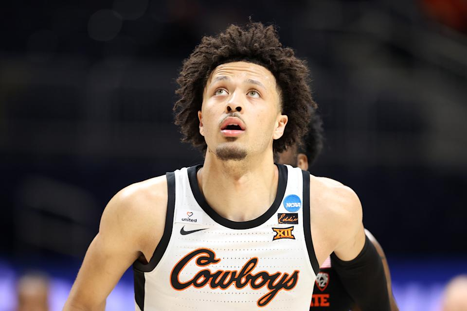 Cade Cunningham is the likely first pick of this year's draft. (Photo by Andy Lyons/Getty Images)
