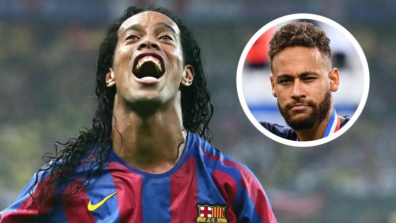 'If Neymar is worth £200m, then Ronaldinho would have been priceless!'