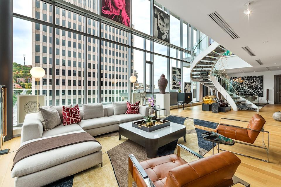 Record-breaking Montreal penthouse