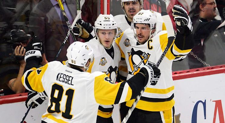 pittsburgh penguins, nhl, ottawa senators, sidney crosby, stanley cup playoffs
