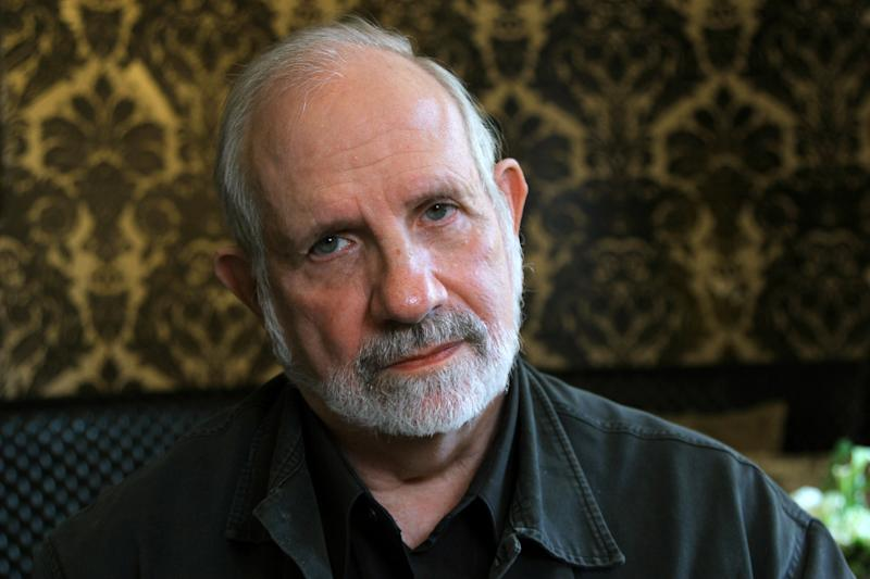 """This Sept. 11, 2012 photo shows director Brian De Palma at the Toronto International Film Festival in New York. De Palma was in Toronto to promote his film, """"Passion,"""" a thriller based on the French film, """"Crime D'Amour."""" (AP Photo/John Carucci)"""