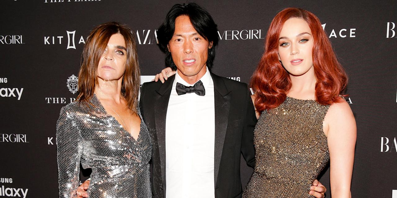 """<p>New York Fashion Week closed with a star-studded fashion fantasy. Thanks to our partners Samsung Galaxy, Kit and Ace, COVERGIRL and Infor, Carine Roitfeld and the inspiring Jean-Paul Goude gathered the faces of their <a href=""""http://www.harpersbazaar.com/fashion/photography/g6021/carine-roitfeld-icons-0915/"""" target=""""_blank"""">fantastical September portfolio</a> at the legendary Plaza Hotel for <em>the </em>party of the week. Belvedere and Moët & Chandon provided the spirits while cover star Katy Perry performed. Click through to see all the stylish attendees.</p>"""