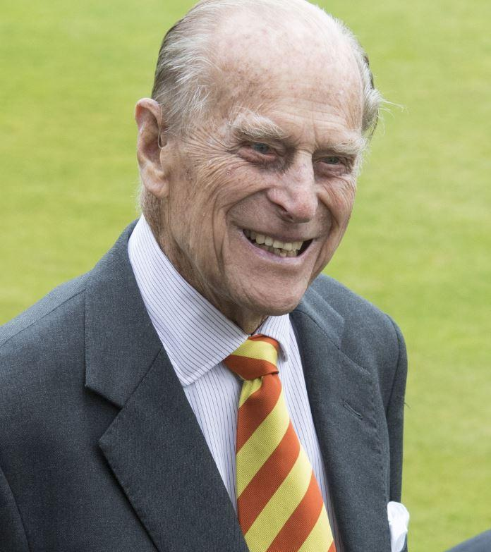 Prince Philip pictured opening the new Warner Stand at Lord's Cricket Ground yesterday, May 3 (Rex)