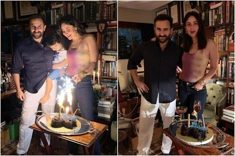 Inside Saif Ali Khan, Kareena Kapoor's Wedding Anniversary Party