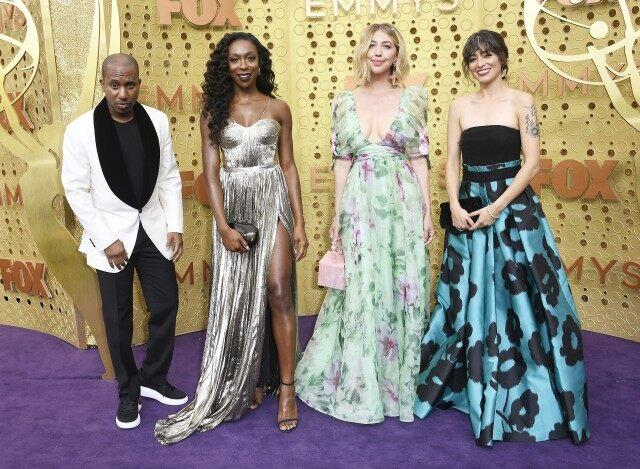 Chris Redd, Ego Nwodim, Heidi Gardner, and Melissa Villaseñor attend the 71st Emmy Awards at Microsoft Theater on September 22, 2019 in Los Angeles, California.