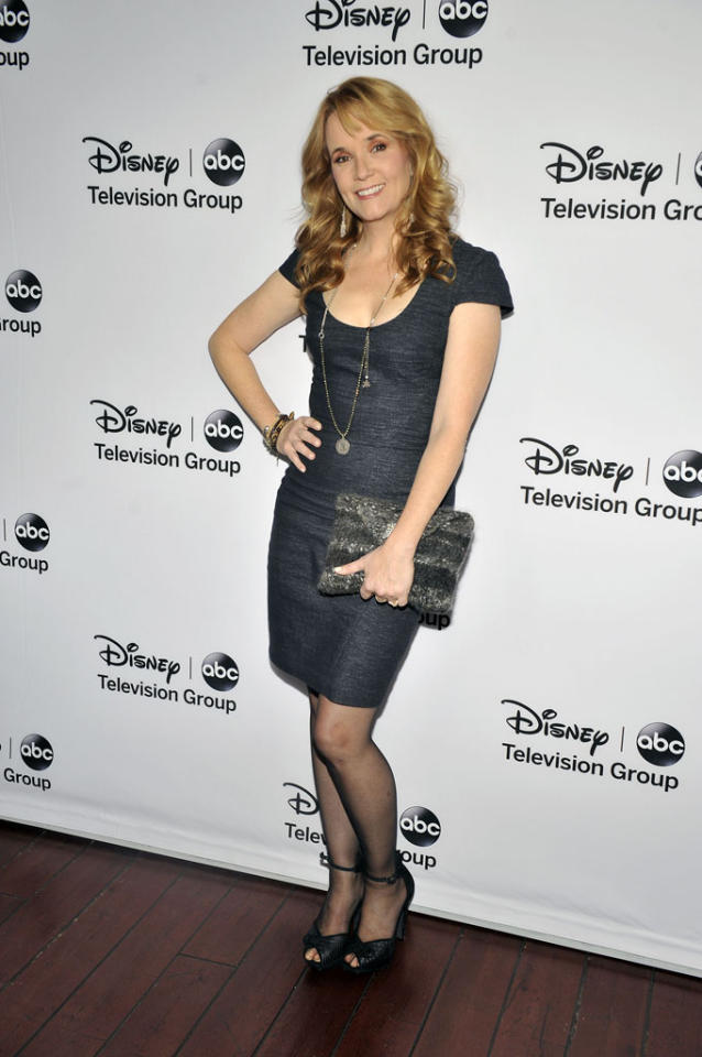 "Lea Thompson (""Switched at Birth"") attends the Disney ABC Television Group 2013 TCA Winter Press Tour at The Langham Huntington Hotel and Spa on January 10, 2013 in Pasadena, California."