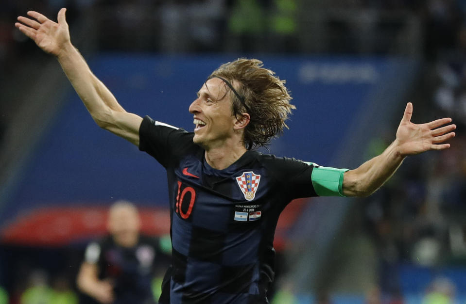 Luk who's talking! Croatia's Luka Modric great strike killed the game
