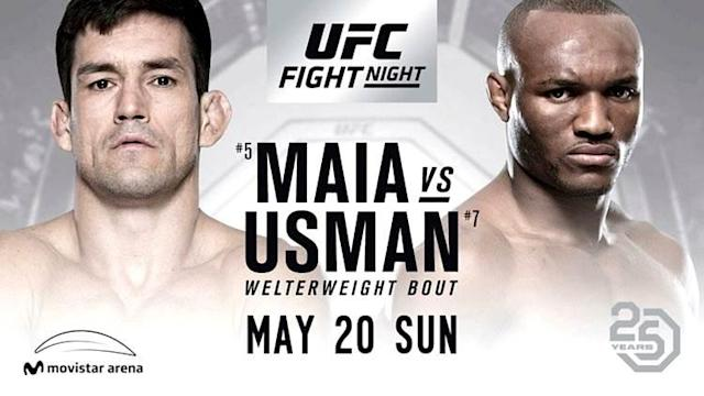 "<p>The Ultimate Fighting Championship this week made its first trip to Chile with UFC Fight Night 129 in Santiago.</p> <p>The fight card was headlined by a welterweight showdown between contenders Demian Maia and Kamaru Usman, which drew a sellout crowd, according to UFC executive David Shaw.</p> <p>""Attendance was 11,082, for a sellout here at Movistar (Arena),"" said Shaw before confirming that the promotion has plans to continue returning to Chile. ""The arena was full right off the bat, the very first fight. It was as loud as I've ever experienced.""</p> <p>Though the UFC Fight Night 129 main event was originally supposed to pit Nigerian fighter Kamaru Usman against Argentinian Santiago Ponzinibbio, an injury forced Ponzinibbio out of the fight. Former UFC welterweight and middleweight title challenger Demian Maia stepped in on short notice, giving Usman a golden opportunity to climb up the rankings.</p> <p><strong>TRENDING > <a href=""https://www.mmaweekly.com/kamaru-usman-decisons-demian-maia-in-one-sided-fight-at-ufc-chile"" rel=""nofollow noopener"" target=""_blank"" data-ylk=""slk:Kamaru Usman Decisons Demian Maia in One-Sided Fight at UFC Chile"" class=""link rapid-noclick-resp"">Kamaru Usman Decisons Demian Maia in One-Sided Fight at UFC Chile</a></strong></p> <p>Usman wasn't as impressive as he would have liked, but he dominated the veteran, who tried at every turn to take the Nigerian to the canvas. Usman, however, stuffed takedown after takedown and rocked Maia with strikes on several occasions, leading to a unanimous-decision victory.</p>"