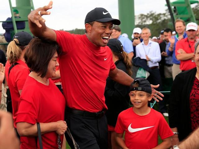 The resurrection of Tiger Woods: Happy, winning the Masters again and reminding us golf is supposed to be fun