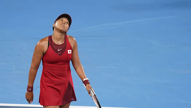 One of the day's biggest upsets came when Japan's Naomi Osaka was knocked out of the women's singles contest in the third round. She endured a 1-6, 4-6 defeat to Czech Republic's Markéta Vondroušová. AP