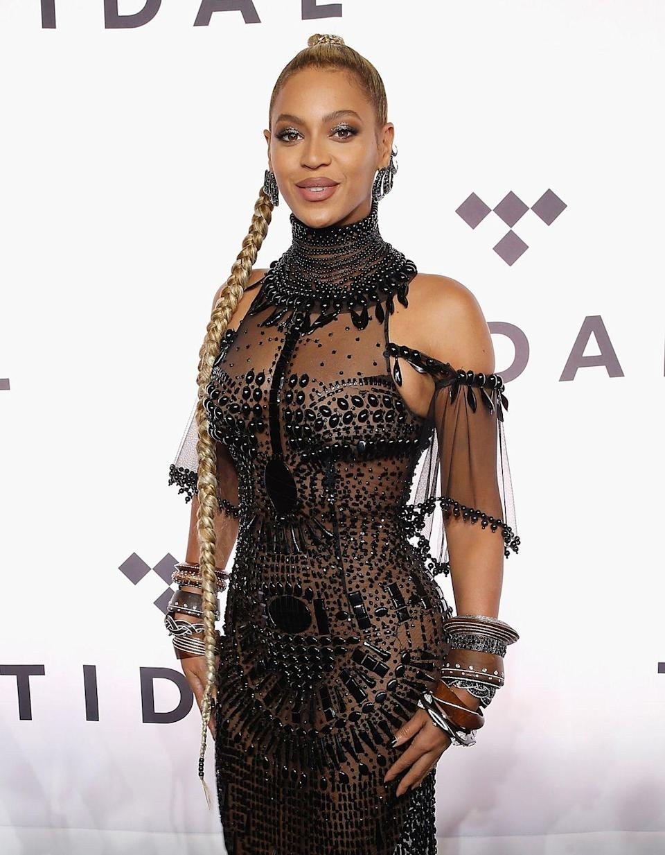 <p>Beyoncé's first movie was an <em>Austin Powers </em>joint. Many have wondered if she regrets doing the movie, but at least her costumes were great!</p>