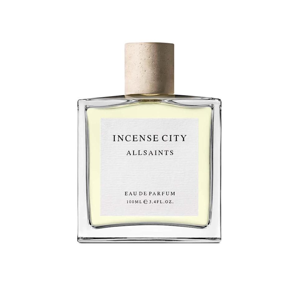 """This unisex scent combines fresh, calming scents contrasted by the woody musk of cedarwood. It evokes the wild, provocative yet spiritual energy Aries represents. $79, Nordstrom. <a href=""""https://shop.nordstrom.com/s/allsaints-incense-city-eau-de-parfum-nordstrom-exclusive/5350188/full"""">Get it now!</a>"""