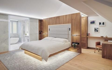 The Connaught Mews bedroom