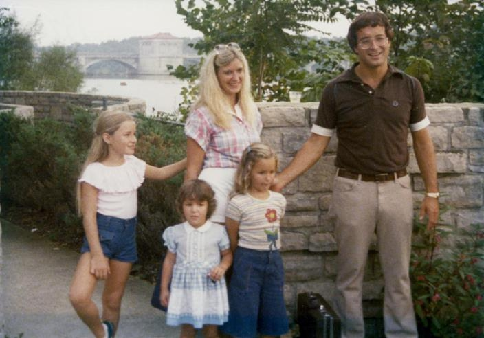 Jack Hanna and his family on their first day at Columbus Zoo, 1978. / Credit: Courtesy: Columbus Zoo and Aquarium