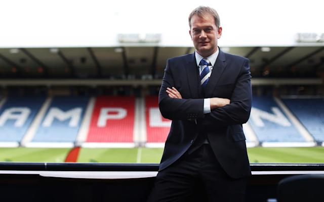 """Nobody knows who will sponsor Scotland when Alex McLeish's players embark upon their Nations League qualifying campaign in September. Nobody knows where the Scots will play their home matches after 2020. The Scottish Cup broadcast deal has come to an end. Rangers are being investigated for a breach of Uefa licensing rules that, at worst, could see them fined up to £5 million and banned from the transfer market. And those are only the principal matters that must be dealt with over the first few weeks of Ian Maxwell's new tenure as CEO of the Scottish Football Association, which had been vacant since Stewart Regan parted company with the organisation on Feb 1. The 43-year-old Maxwell has at least been immersed in football as a player, coach, assistant manager and, most recently, as managing director of Partick Thistle, who were relegated from the Scottish Premiership when they lost to Livingston in the play-off. It was not the most auspicious transition for the man who will now be the figurehead of Scottish football, but he was bullish about the club's guidance during a campaign which began poorly and ended in failure. """"We made decisions for the right reasons,"""" he said. """"If I had to do it again, I would make them again. Ross County changed their manager twice and got relegated – so there is no right and wrong in that situation. You have to do what your gut tells you. """"Thistle traditionally started slowly. Last season we finished sixth after being bottom of the table at Christmas, so Alan Archibald had earned the right to try and keep us in the division. I don't have any regrets about the decisions that were made – unfortunately they didn't work out. That's the nature of it."""" Not that there is time for him to indulge in introspection, given the task list on his desk. Of the need to find new commercial backers, Maxwell said: """"Any time you get to the end of a sponsorship contract and you don't have a renewal, then it's urgent. It's an opportunity as well. We have the Nat"""