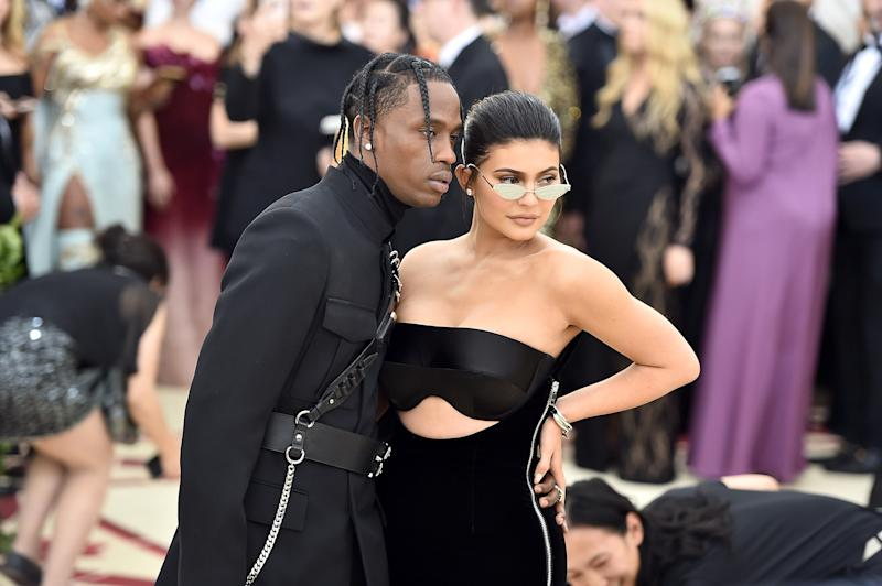 Travis Scott Says Watching Kylie Jenner Give Birth Was 'Really Scary'