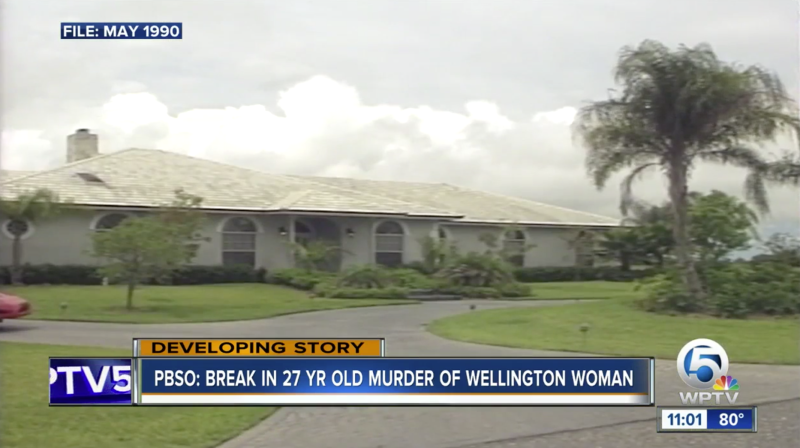 Marlene Warren, 40, was fatally shot at this Palm Beach County home. (WPTV)