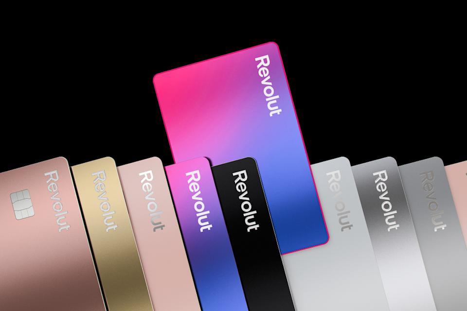 Revolut's new Plus cards. Photo: Revolut
