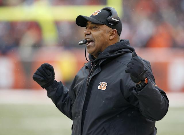 Marvin Lewis said the NFL's relaxed celebration rules are not a good example for young people. (AP)