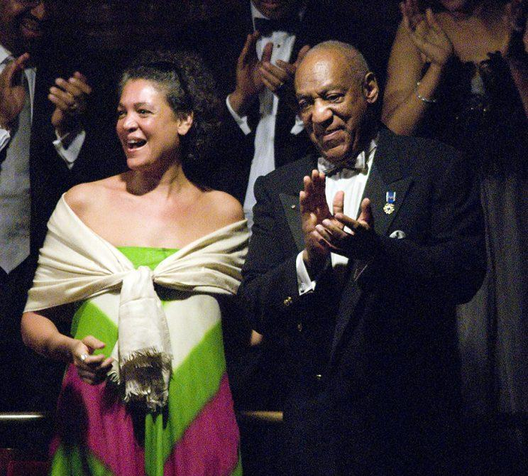 Bill Cosby and daughter Erinn watched the Gala Concert before he accepted the Marian Anderson Award at the Kimmel Center for the Performing Arts in Philadelphia in 2010. (Photo: William Thomas Cain/Getty Images)