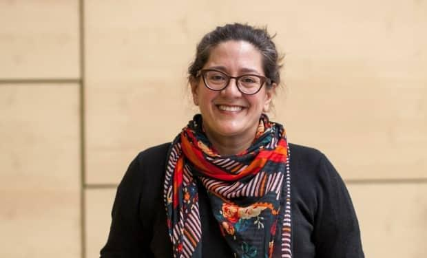 Mary Jane Logan McCallum is a history professor at U of W and a Canada Research Chair in Indigenous people, history and archives. She believes Premier Brian Pallister is 'not engaging at the level that his citizens are engaging' when it comes to Manitoba's history. (KC Adams - image credit)