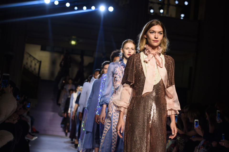 The schedule for London Fashion Week September 2017 is jam-packed with style hits [Photo: PA]