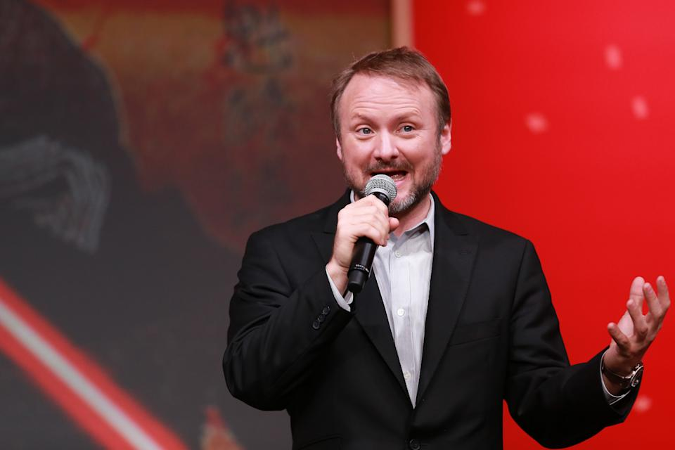 Rian Johnson attends the 'Star Wars: The Last Jedi' press conference on December 7, 2017 in Tokyo, Japan. (Photo by Christopher Jue/Getty Images for Disney)