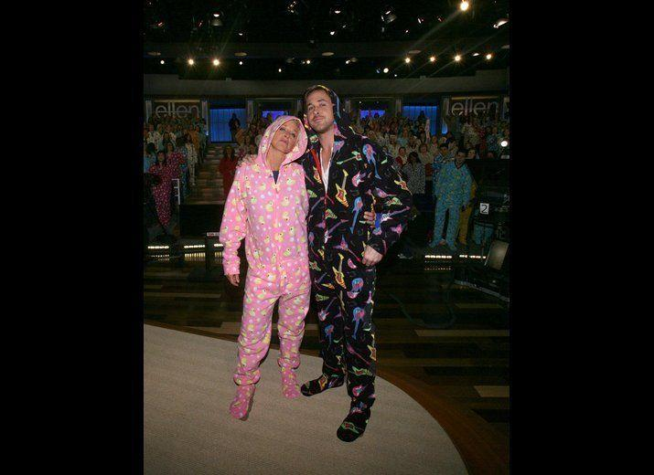Who wouldn't love to have a slumber party with Ryan Gosling and Ellen?