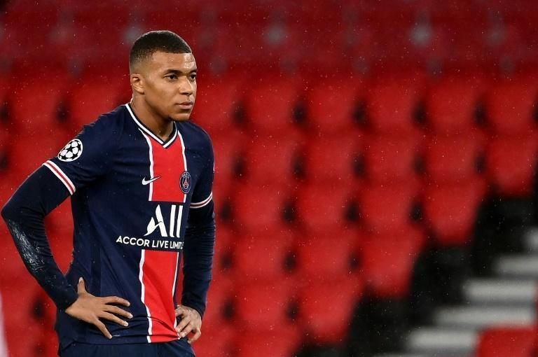 Kylian Mbappe has now gone six Champions League matches without scoring