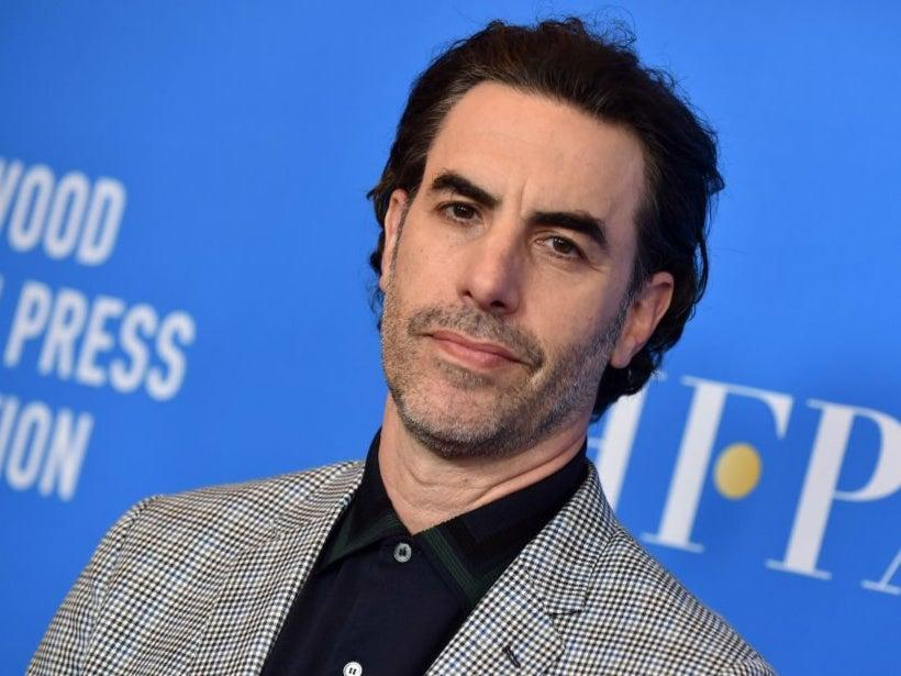 Sacah Baron Cohen celebrated Roy Moore's lawsuit loss (Lisa O'Connor/Getty)