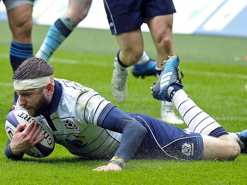 Finn Russell touched down in the first half (Getty)