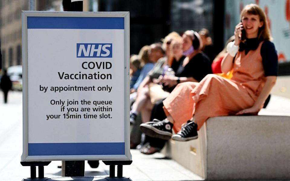 Covid vaccines are estimated to have directly averted nearly 67,000 hospital admissions - ANDY RAIN/EPA-EFE/Shutterstock