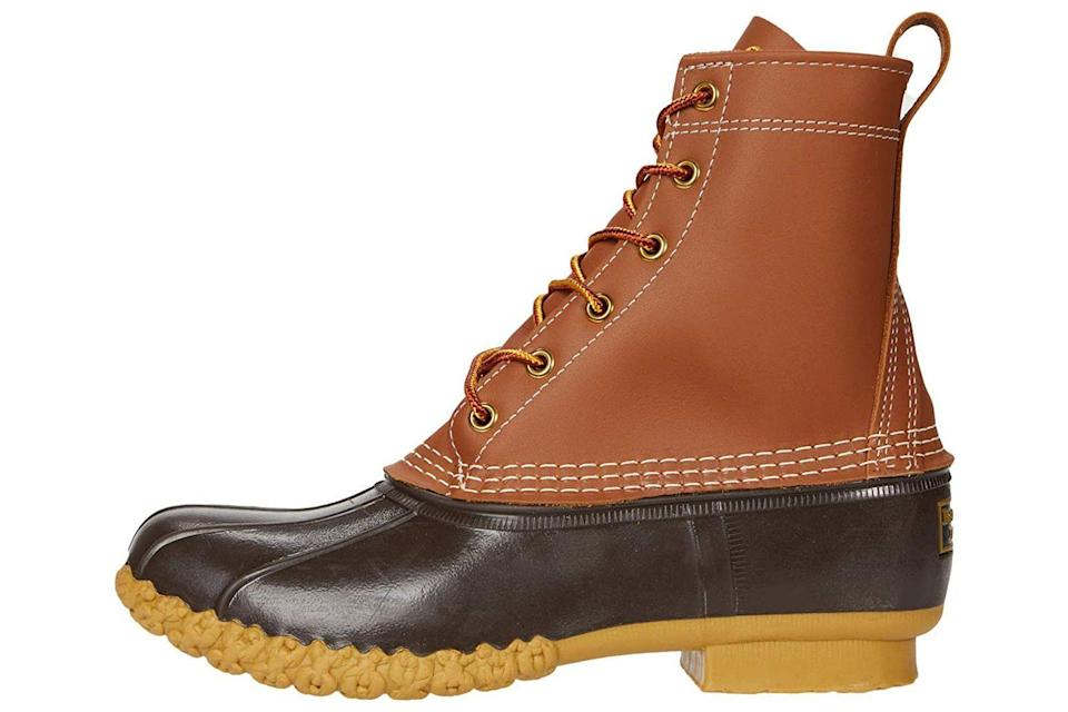 """<p><strong>L.L.Bean</strong></p><p>zappos.com</p><p><strong>$139.00</strong></p><p><a href=""""https://go.redirectingat.com?id=74968X1596630&url=https%3A%2F%2Fwww.zappos.com%2Fp%2Fl-l-bean-8-bean-boots-tan-brown%2Fproduct%2F9490067&sref=https%3A%2F%2Fwww.prevention.com%2Fbeauty%2Fstyle%2Fg28511743%2Fcomfortable-ankle-boots%2F"""" rel=""""nofollow noopener"""" target=""""_blank"""" data-ylk=""""slk:Shop Now"""" class=""""link rapid-noclick-resp"""">Shop Now</a></p><p>You've probably owned a pair of these at some point, and for good reason: They're a classic with some impressive specs. Built with <strong>grippy soles, sturdy stitching, and weatherproof leather</strong>, they're ideal for those gray days that start around <a href=""""https://www.prevention.com/life/g28088715/fall-quotes/"""" rel=""""nofollow noopener"""" target=""""_blank"""" data-ylk=""""slk:October"""" class=""""link rapid-noclick-resp"""">October</a>. """"They're perfect for those cold, wintry months,"""" Dr. Tulpule says, and they even come with extra room for <a href=""""https://www.prevention.com/beauty/style/g29152282/best-wool-socks-for-winter/"""" rel=""""nofollow noopener"""" target=""""_blank"""" data-ylk=""""slk:warm socks"""" class=""""link rapid-noclick-resp"""">warm socks</a>.</p>"""