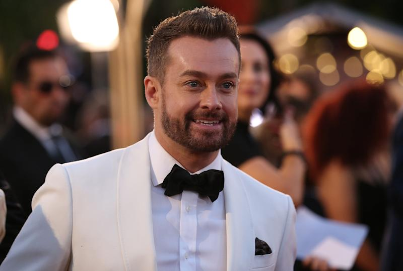 Grant Denyer arrives at the 61st Annual TV WEEK Logie Awards at The Star Gold Coast on June 30, 2019 on the Gold Coast, Australia. (Photo: Jono Searle via Getty Images)
