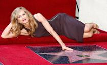"""<p>""""I don't do well giving speeches,"""" recalls the actress (receiving a star on the Hollywood Walk of Fame in 2008). """"I was out of my mind with nerves.""""</p> <p>Of fame in general, """"it's not like, 'Oh wow, now I'm a success,' """" the 62-year-old says of her four-decade-long career. """"The road wings and turns and goes steeply downhill and uphill. The more I participate, the more humble I get.""""</p>"""