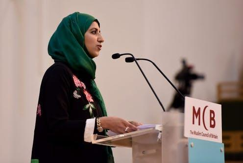 """<span class=""""caption"""">Zara Mohammed, the new secretary general of the Muslim Council of Britain, was recently questioned about Muslim female leadership on BBC Radio 4's Woman's Hour</span> <span class=""""attribution""""><span class=""""source"""">Abdulmukith Ahmed/Muslim Council of Britain</span></span>"""