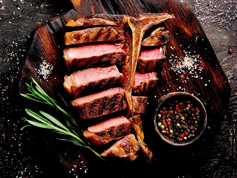 """<p>holygrailsteak.com</p><p><a href=""""https://go.redirectingat.com?id=74968X1596630&url=https%3A%2F%2Fholygrailsteak.com%2Fcollections%2Fbest-sellers-1%2Fproducts%2Ft-bone-upper-prime-angus-24oz&sref=https%3A%2F%2Fwww.townandcountrymag.com%2Fleisure%2Fdining%2Fg32418112%2Fbest-meat-delivery-services%2F"""" rel=""""nofollow noopener"""" target=""""_blank"""" data-ylk=""""slk:Shop Now"""" class=""""link rapid-noclick-resp"""">Shop Now</a></p><p>If you've been wondering what all the fuss is about with Japanese Kobe, this is the place to find out. As the only online purveyor in the US certified by the Kobe Marketing Association, you can snap up some highly coveted A5-grade Japanese Kobe beef as well as cuts of Prime angus, Wagyu, grass-fed steaks. </p><p><strong>More: </strong><a href=""""https://www.townandcountrymag.com/leisure/dining/g31667965/best-food-and-wine-delivery-services/"""" rel=""""nofollow noopener"""" target=""""_blank"""" data-ylk=""""slk:The Best Food and Meal Delivery Services"""" class=""""link rapid-noclick-resp"""">The Best Food and Meal Delivery Services</a></p>"""