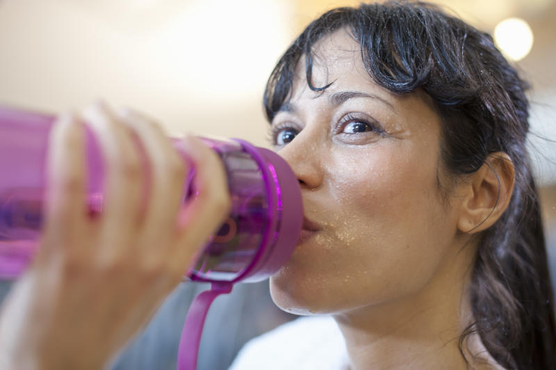 Our sweaty habits could be making us ill. [Photo: Getty]