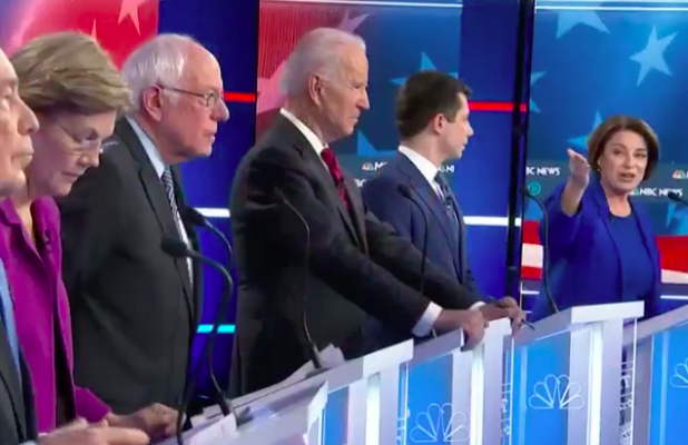 Candidates Armed With Bloomberg Oppo Research (and Plenty of Zings) at 9th Democratic Debate