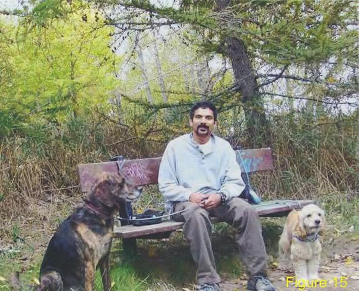 <p>One of 31 photos of Skandaraj Navaratnam, who disappeared on Sept. 6, 2010, that police extracted from one of McArthur's hard drives. McArthur kept photos, both from life and post-mortem, of most of his victims on several digital devices. (Photo provided by the Crown) </p>