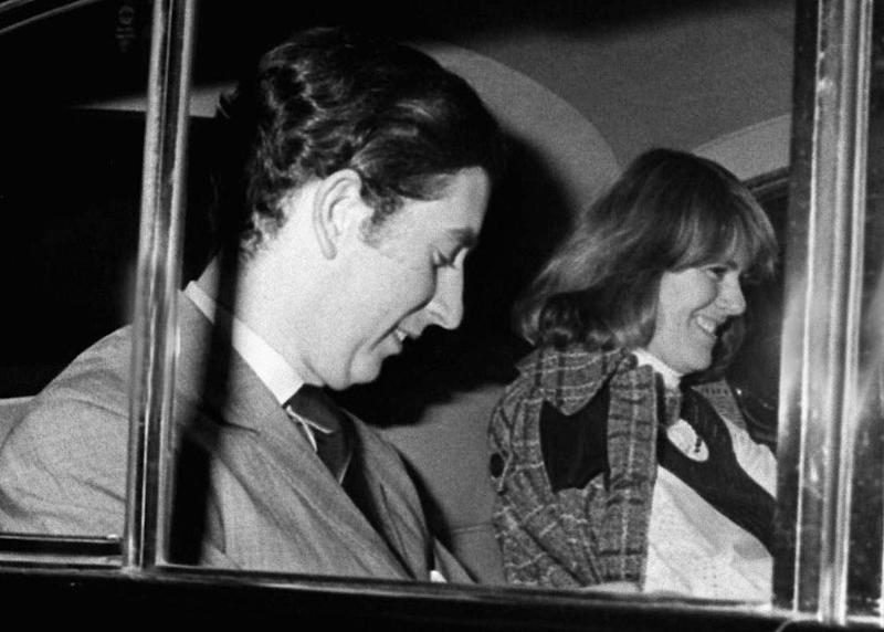 Prince Charles and Camilla in 1975 | David Cole/Shutterstock